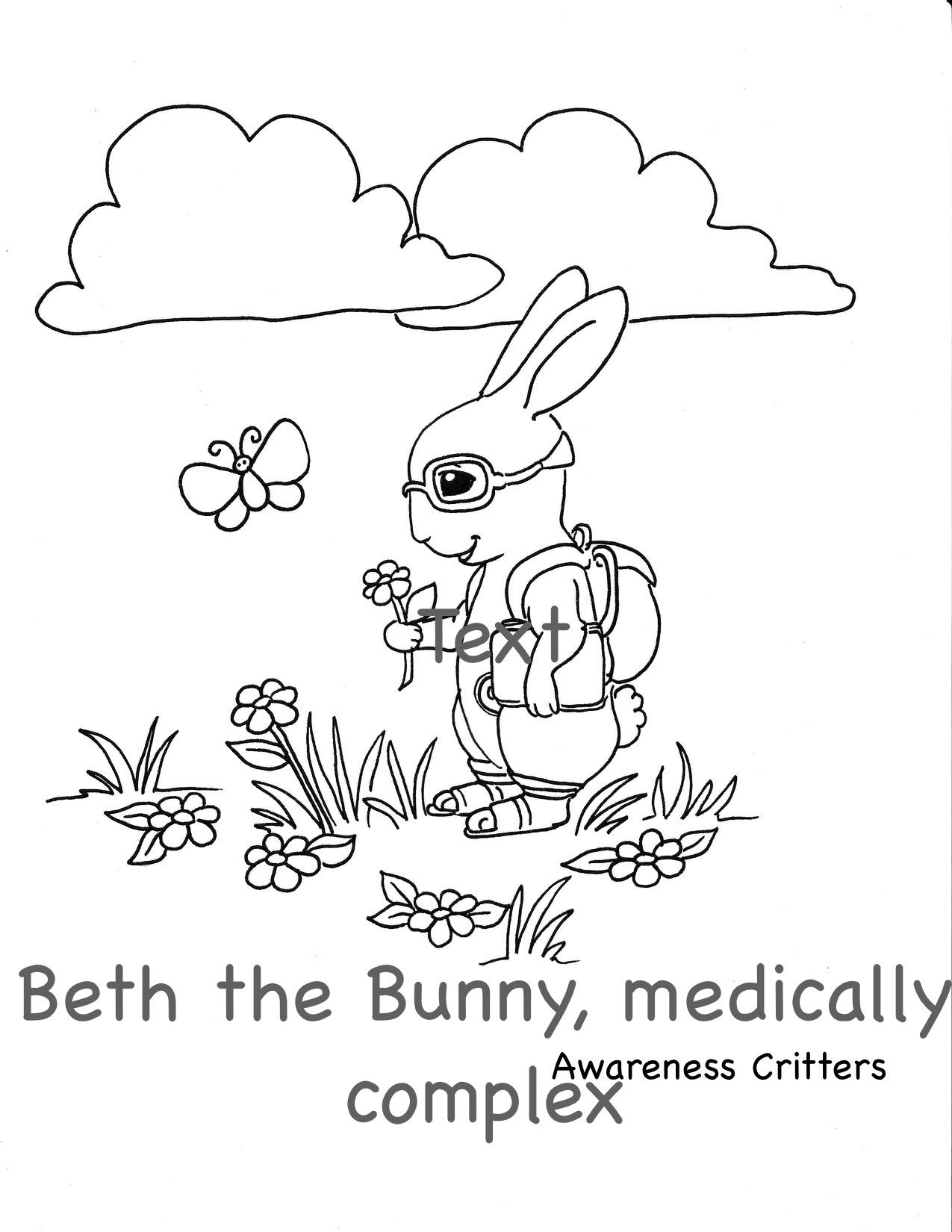 medically complex coloring pages